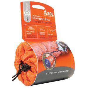 SOL Emergency Bivvy Bag for running
