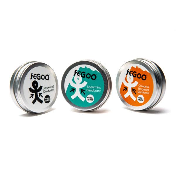 Organic deodorant balms